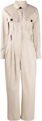 BA&SH Clotilde workwear jumpsuit