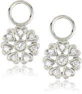 """KC Designs Charmed Life"""" Diamond 14k White Gold Flower Ear Charm"""