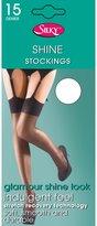 Silky Womens/Ladies Shine Plain Top Stockings (1 Pair)