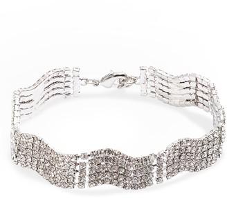 CRISTABELLE Swag Line Crystal Bracelet
