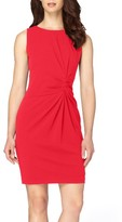 Tahari Women's Ruched Sheath Dress