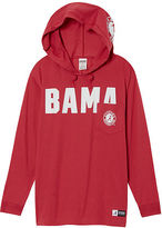 PINK University Of Alabama Campus Hoodie Tee