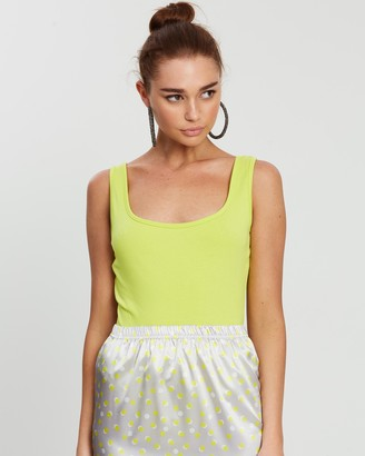 Missguided Square Neck Sleeveless Bodysuit