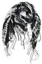 Michael Stars Women's Tie Dye Fringe Scarf