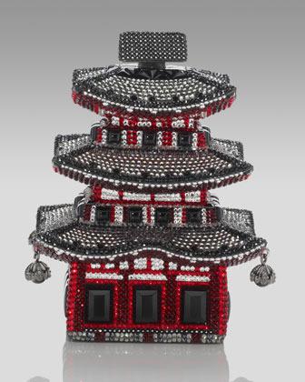 Judith Leiber Kyoto Pagoda Clutch
