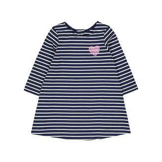 Mothercare Baby Girls' SR Flow MC61 White Heart Jersey Dress