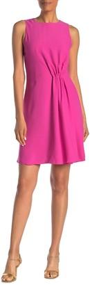 Reiss Nadia Side Gather Dress