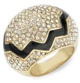 CC Skye 18K Yellow Gold Cracked Egg Ring