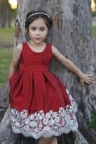 Isabel Garreton Red Silver Dress