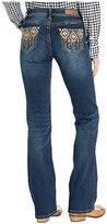 Rock and Roll Cowgirl Mid-Rise Bootcut in Dark Vintage W1-4115 (Dark Vintage) Women's Jeans