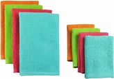Asstd National Brand Set of 8 Terry Bright Dish Towels and Dish Cloths