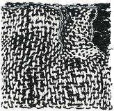 Yohji Yamamoto chunky knit scarf