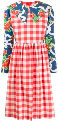 Batsheva Contrasting Day Dress