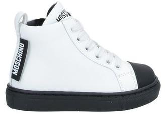 MOSCHINO BAMBINO High-tops & sneakers