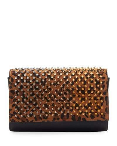 abdc27fa7b Leopard Clutch Bag - ShopStyle