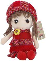 """Sealive 15.7"""" Cute Little Girl Toy Lovely Little Princess Doll Amazing Plush Toy Doll For Baby Girl Shower Birthday Gift Xmas Gift"""