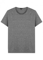 Vince Grey Mélange Cotton T-shirt