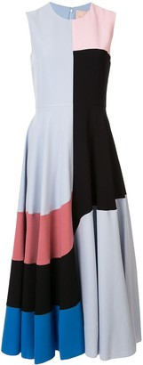 Roksanda colour block shift dress