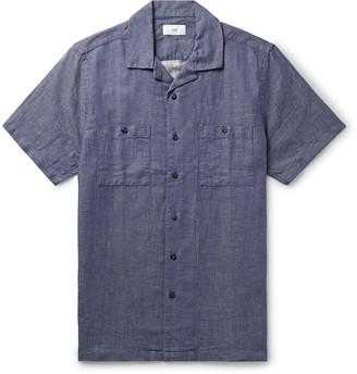 Onia Camp-Collar Cotton-Blend Shirt
