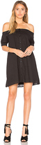 The Fifth Label Sun Valley Dress in Black. - size L (also in M,S,XS,XXS)