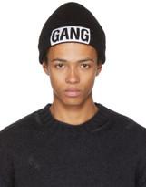 Neil Barrett Black Gang Beanie