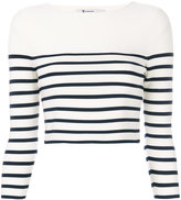 T By Alexander Wang - striped crop to