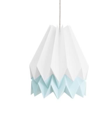 Orikomi Polar White With Mint Blue Stripe