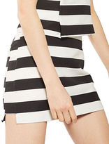 Topshop Bold Striped Mini Skirt