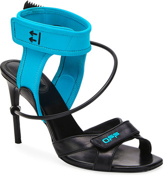 Off-White Surf Two-Tone Sandals