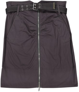 Marc by Marc Jacobs Grey Cotton Skirt for Women