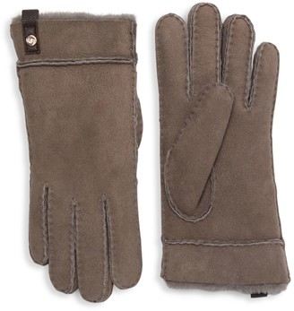 UGG Tenney Shearling & Suede Gloves