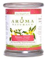 YLANG YLANG Aroma Naturals 100% Natural Soy Essential Oil Candle - Romance (Jasmine & 260g/8.8oz