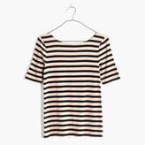Madewell Chorus Scoop-Back Tee in Stripe