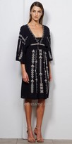 Greylin Nadia Embroidered Dress