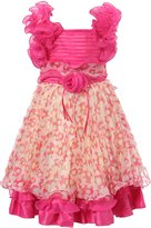 Richie House Girl's Princess Party Dress with Ruffles Size 2-6Y-FBA