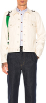 GANRYU Cotton Selvedge Denim Jacket