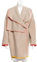 Stella McCartney Wool Knee-Length Coat
