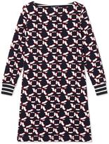 Petit Bateau Womens cotton fleece dress