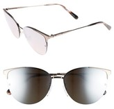 Bobbi Brown Women's The Crystal 57Mm Cat Eye Sunglasses - Dark Ruthenian