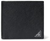 Prada Cross-Grain Leather Billfold Wallet
