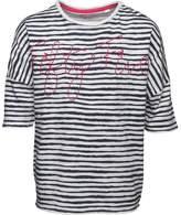 Original Penguin Girls Stripe T-Shirt Nocturnal