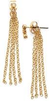 Ettika Crystal Cluster Tassel Earrings