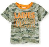 Baby Starters Baby Boys 12-24 Months Ladies Man Short-Sleeve Tee