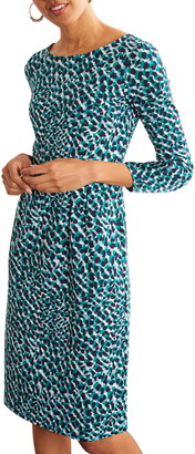 Boden Penny Print Cotton Jersey Dress