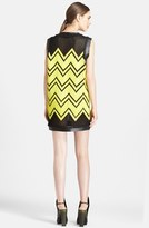 Alexander Wang Shoelace Embroidered Dress