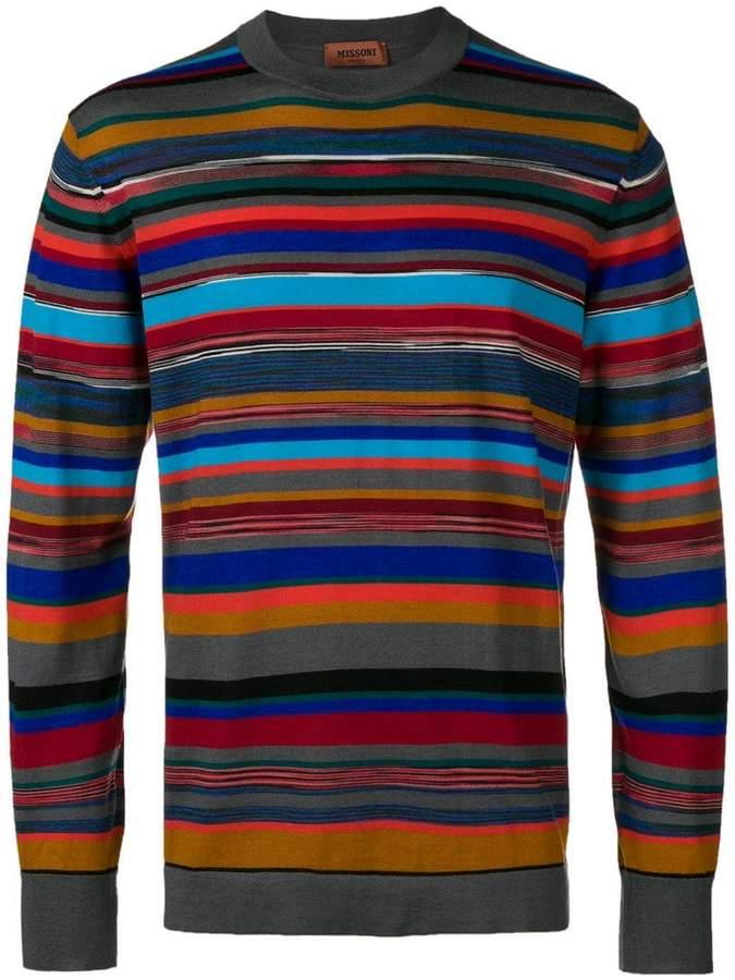 Missoni striped jumper