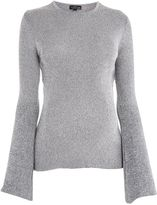 Topshop MATERNITY Flute Sleeve Top