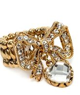 Betsey Johnson Iconic Bow Stretch Ring