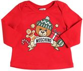 Moschino Holiday Printed Cotton Jersey T-Shirt