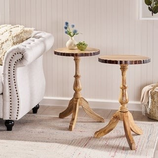 Christopher Knight Home McKay Mango Wood End Table